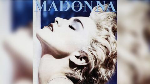"""Das Plattencover von Madonnas """"True Blue"""""""