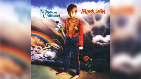 """Das Plattencover von Marillions """"Misplaced Childhood"""""""