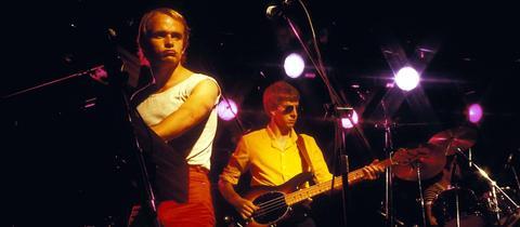 Men At Work 1982 auf der Bühne