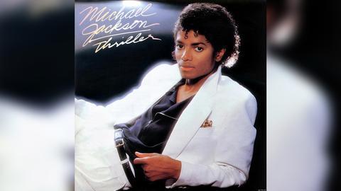 """Das Plattencover von Michael Jacksons """"Thriller"""""""
