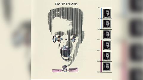 Das Plattencover des ersten Albums von Mike & The Mechanics
