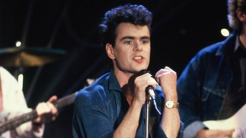 Nik Kershaw 1986 bei einem Auftritt