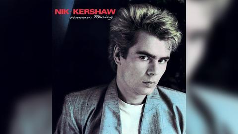 """Das Plattencover von Nik Kershaws """"Human Racing"""""""