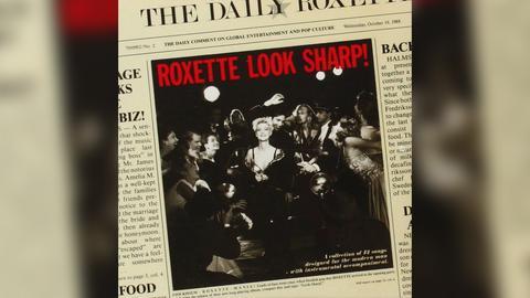 """Das Plattencover von Roxettes """"Look Sharp!"""""""
