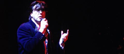 Bryan Ferry 1988 auf der Bühne