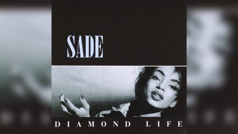 "Das Plattencover von Sades ""Diamond Life"""