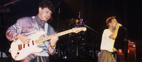 Ein Simple-Minds-Konzert von 1984