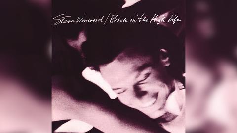 "Das Plattencover von Steve Winwoods ""Back In The High Life"""