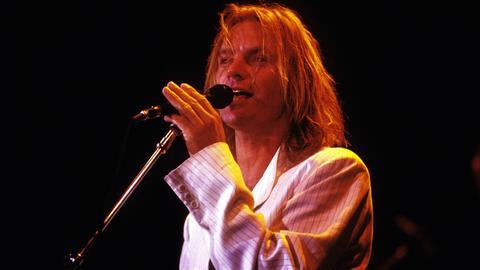 Sting bei einem Konzert 1988