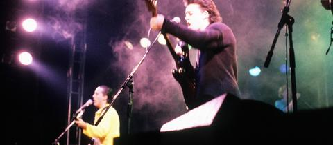 Tears for Fears 1985 bei einem Konzert