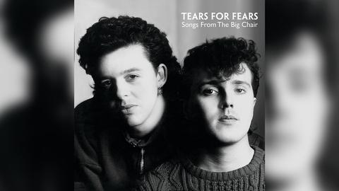 """Das Plattencover vom Tears for Fears-Album """"Songs From The Big Chair"""""""