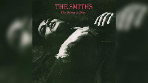 "Das Plattencover vom The Smiths-Album ""The Queen Is Dead"""