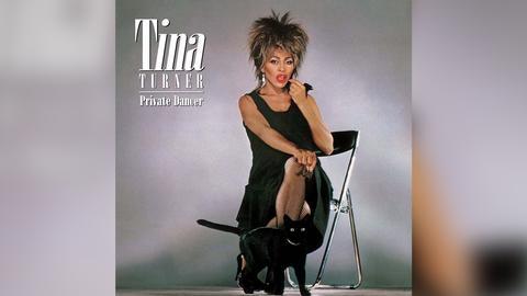 """Das Plattencover von Tina Turners """"Private Dancer"""""""