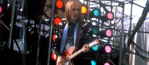 Tom Petty 1985 bei einem Auftritt