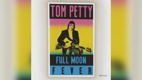 """Das Plattencover von Tom Pettys """"Full Moon Fever"""""""