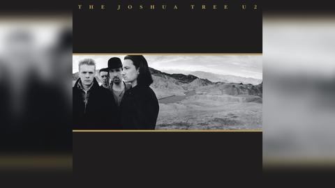 "Das Plattencover von U2s Album ""The Joshua Tree"""
