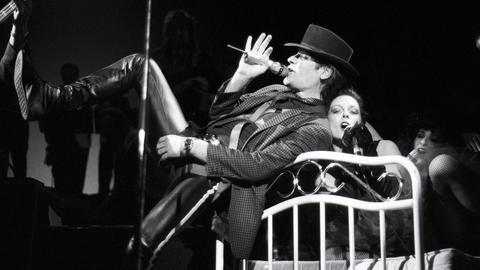 Udo Lindenberg 1988 bei einem Konzert