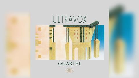 "Das Plattencover vom Ultravox-Album ""Quartet"""