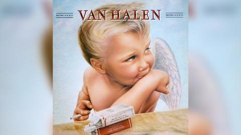 """Das Plattencover von Van Halens """"1984"""""""