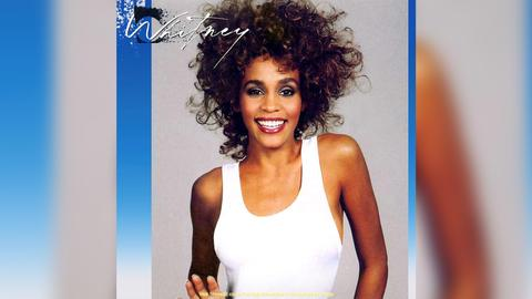 Das Plattencover von Whitney Houstons erstem Album
