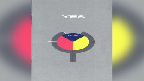 "Das Plattencover vom Yes-Album ""90125"""