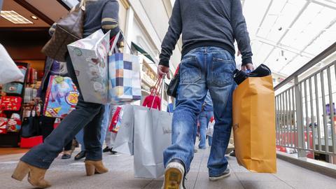 Einkaufen Adventszeit