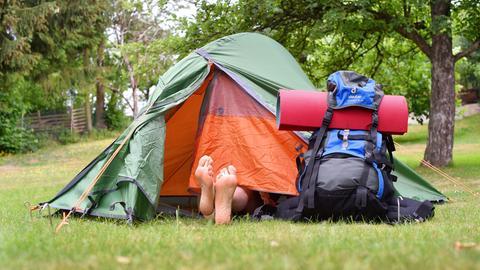 Camping zelten