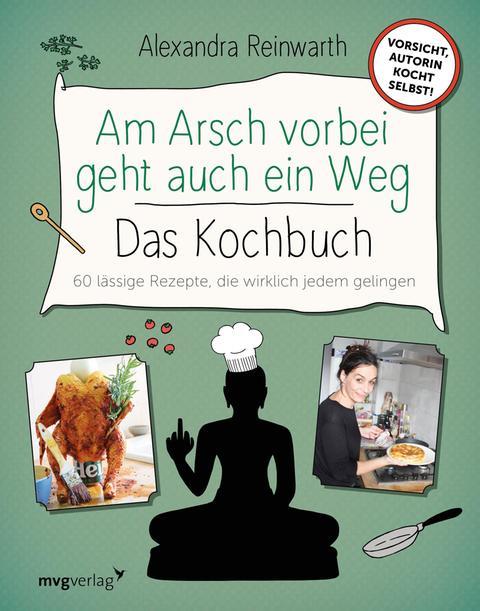 """Buchcover """"Am Arsch vorbei geht auch ein Weg"""""""