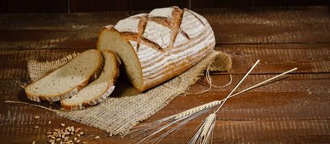 Dolce Vita Brotbacken Mischbrot mit Roggen