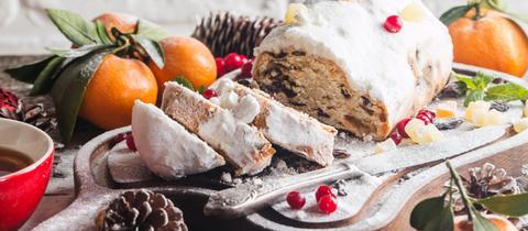 Dolce Vita Weihnachtsmenü Christstollen