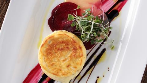 Käse-Soufflé