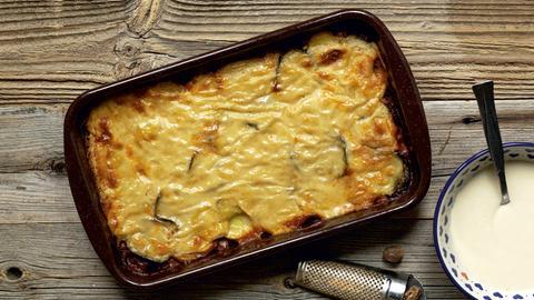 Auberginen-Kartoffel-Auflauf