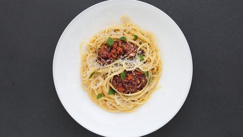 Roland Trettl: Spaghetti Bolognese