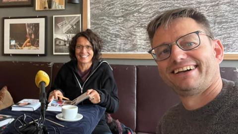 Ulrike Folkerts im hr1-Talk mit Uwe Berndt
