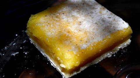 Zitronenriegel