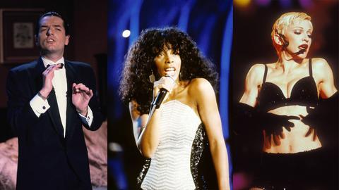 Falco, Donna Summer, Madonna