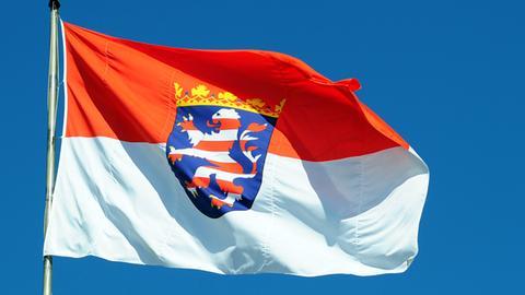 Hessens Flagge
