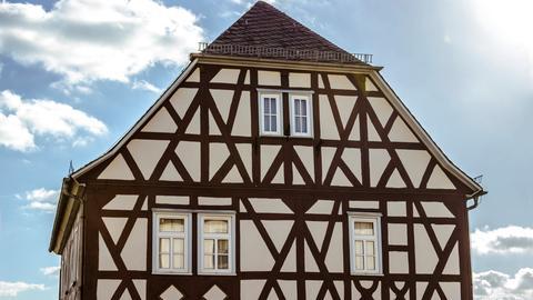 Das Goethehaus in Volpertshausen.