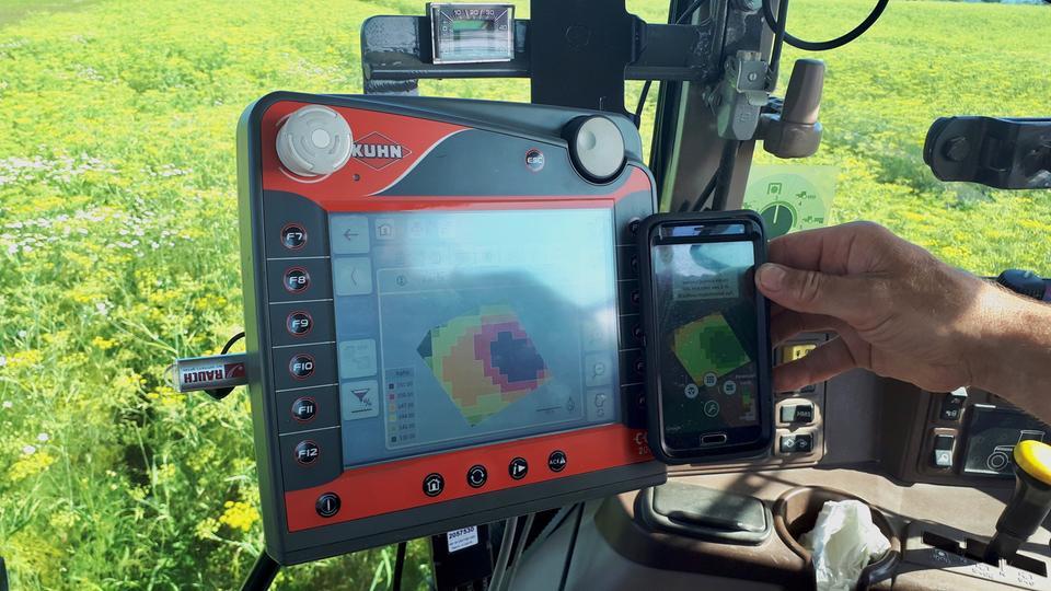 Die satellitengestützte App von Solorrow unterstützt die Agrarwirtschaft.
