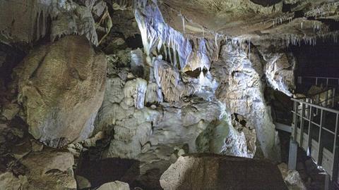 Höhle Herbstlabyrinth in Breitscheid.