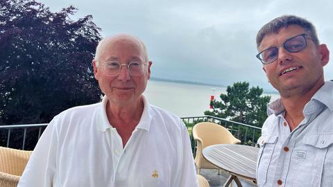 Stefan Aust und Uwe Berndt