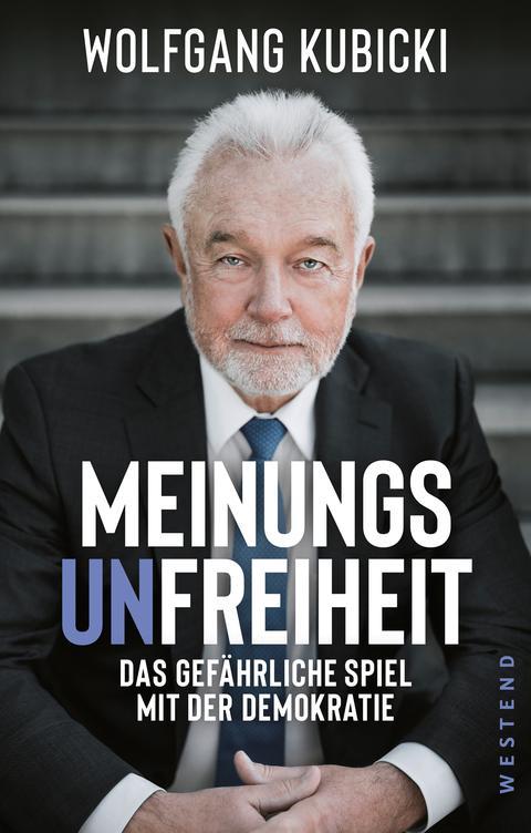 Buchcover Meinungsunfreiheit Kubicki
