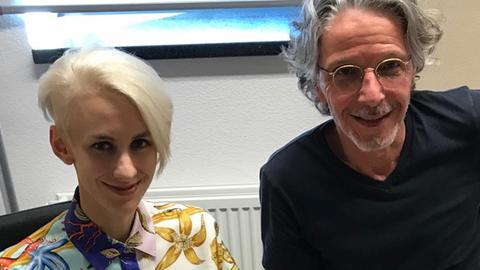 Lisa Eckhart und Klaus Reichert