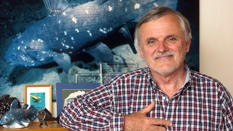 Autor und Tierfilmer Hans Fricke