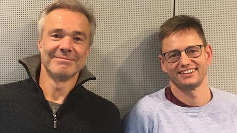 Hannes Jaenicke und Uwe Berndt