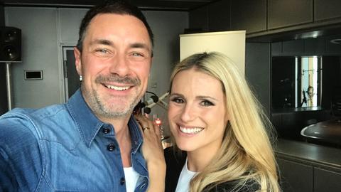 Marco Schreyl und Michelle Hunziker