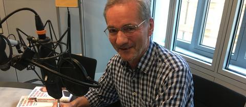 Matthias Platzeck beim hr1-Talk