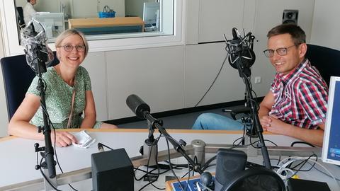 Susanne Panter (li.) mit Uwe Berndt.