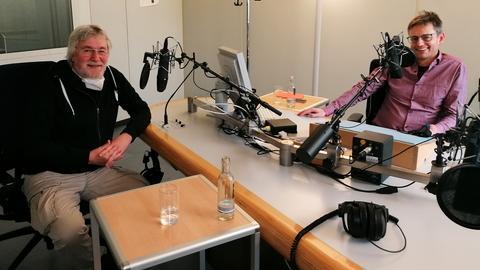 Rolf Silber mit Uwe Berndt