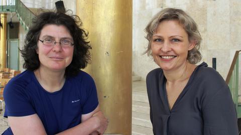 Christine Thürmer und Marion Kuchenny
